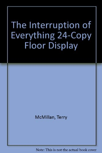 book The Interruption of Everything 24-Copy Floor Display
