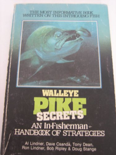 book WALLEYE PIKE SECRETS - An In-Fisherman Handbook of Strategies