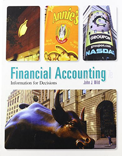 book Financial Accounting: Information for Decisions, 7th Edition