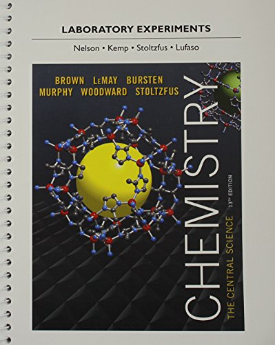 book Laboratory Experiments for Chemistry: The Central Science (13th Edition)
