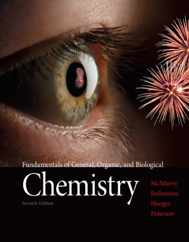 book Fundamentals of General, Organic, and Biological Chemistry (7th Edition)