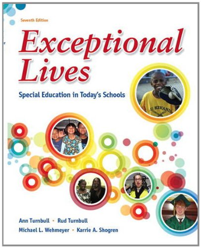 book Exceptional Lives: Special Education in Today\'s Schools (7th Edition)
