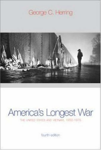 book America\'s Longest War: The United States and Vietnam, 1950-1975 with Poster (4th Edition)