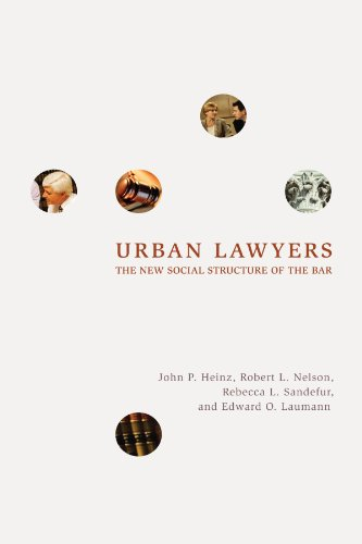 book Urban Lawyers: The New Social Structure of the Bar