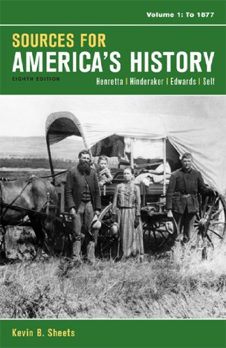 book Sources for America\'s History, Volume 1: To 1877