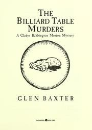 book The Billiard Table Murders - A Gladys Babbington Morton Mystery