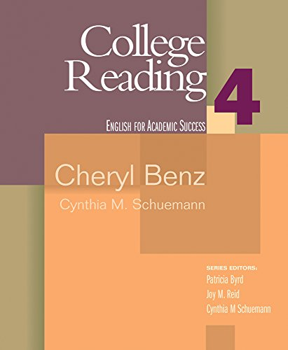 book College Reading 4 (Houghton Mifflin English for Academic Success) (Bk. 4)