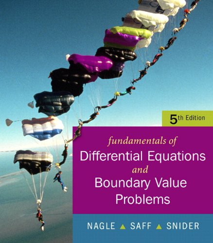 book Fundamentals of Differential Equations with Boundary Value Problems (5th Edition)