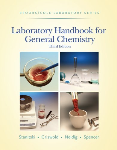 book Laboratory Handbook for General Chemistry (with Student Resource Center Printed Access Card) (Brooks \/ Cole Laboratory Series)