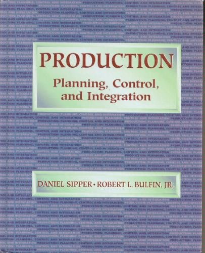 book Production: Planning, Control and Integration