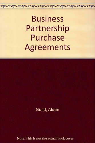 book Business-Partnership Purchase Agreements