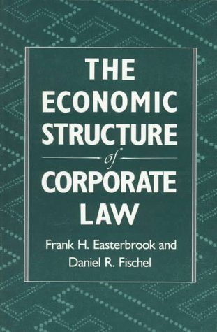 book [ The Economic Structure of Corporate Law By Easterbrook, Frank H ( Author ) Paperback 1996 ]
