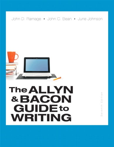 book The Allyn & Bacon Guide to Writing (7th Edition)