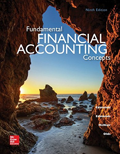 book Fundamental Financial Accounting Concepts, 9th Edition