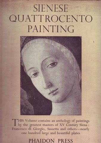 book Sienese Quattrocento Painting