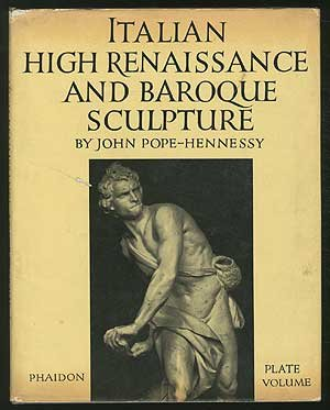 book Italian high renaissance and baroque sculpture (His An introduction to Italian sculpture)