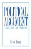 book Political Argument: A Reissue With a New Introduction (California Series on Social Choice & Political Economy)
