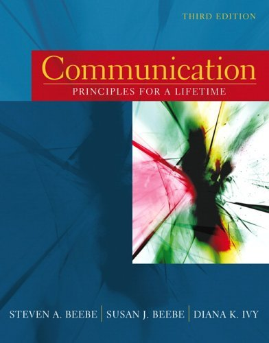 book Communication - Principles For a Lifetime - Third Edition - Unbound (looseleaf) with My Speech Lab