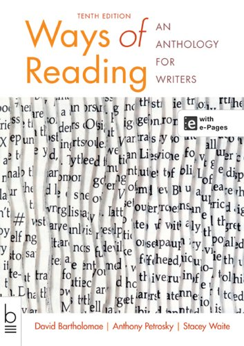 book Ways of Reading: An Anthology for Writers