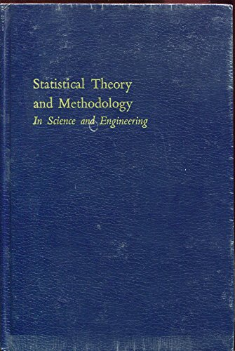 book Statistical Theory and Methodology In Science and Engineering (reprinted with corrections)
