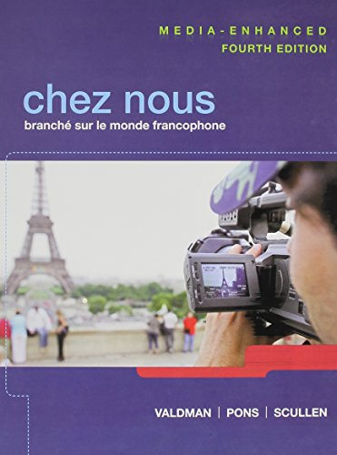 book CHEZ NOUS Media Enhanced, MyFrenchLab with Pearson eText, Oxford French Dictionary, Quick to French Grammar (14th Edition)