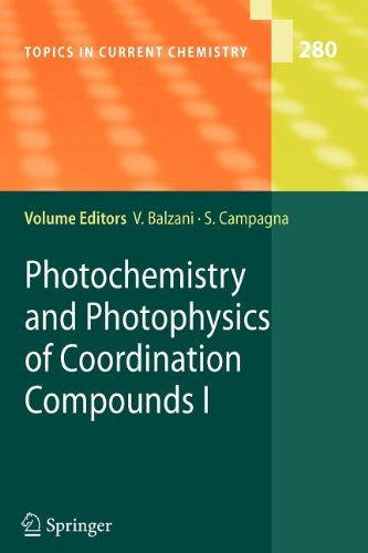 book Photochemistry and Photophysics of Coordination Compounds I