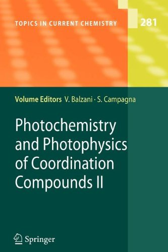 book Photochemistry and Photophysics of Coordination Compounds II