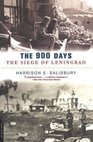 book The 900 Days: The Siege of Leningrad by Harrison E. Salisbury (28-Aug-2003) Paperback