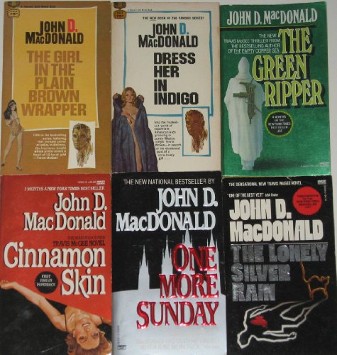 book 6 Thrillers By Bestselling Author John D. MacDonald: \