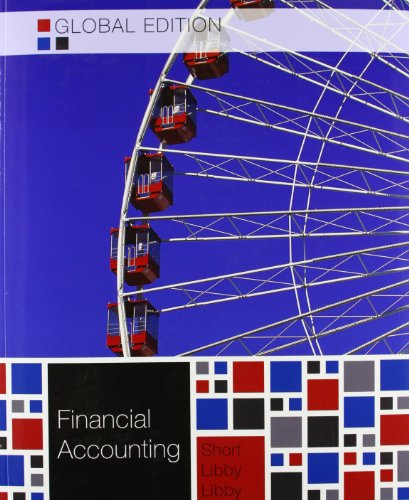 book Financial Accounting. Robert Libby, Patricia A. Libby, Daniel G. Short