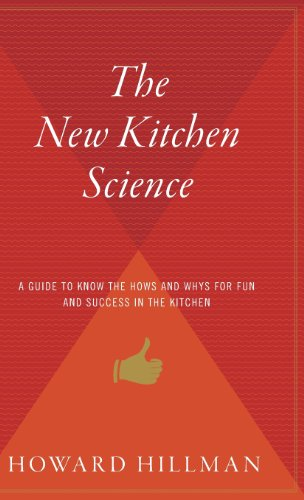 book The New Kitchen Science: A Guide to Knowing the Hows and Whys for Fun and Success in the Kitchen