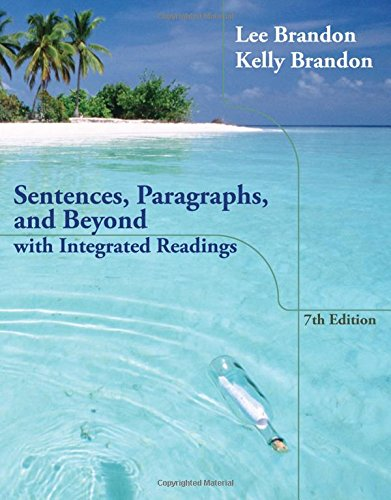 book Sentences, Paragraphs, and Beyond: With Integrated Readings
