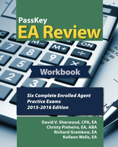 book PassKey EA Review Workbook:: Six Complete Enrolled Agent Practice Exams: 2015-2016 Edition