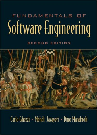book Fundamentals of Software Engineering (2nd Edition)
