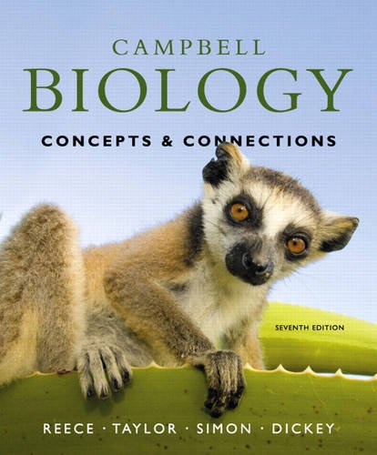 book Campbell Biology: Concepts & Connections (7th Edition)