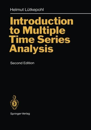 book Introduction to Multiple Time Series Analysis 2nd edition by L\u00FCtkepohl, Helmut (2013) Perfect Paperback