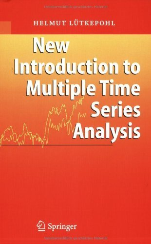 book New Introduction to Multiple Time Series Analysis by L\u00FCtkepohl, Helmut (2007) Paperback