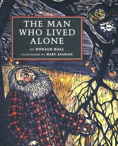 book The Man Who Lived Alone by Donald Hall (1998) Paperback