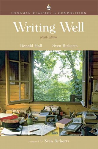 book Writing Well, Longman Classics Edition (9th Edition)