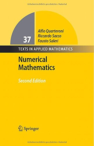 book Numerical Mathematics (Texts in Applied Mathematics)