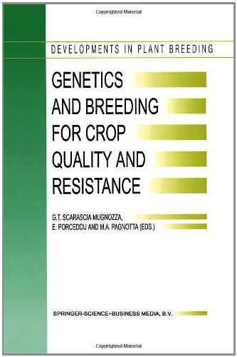 book Genetics and Breeding for Crop Quality and Resistance (Developments in Plant Breeding)