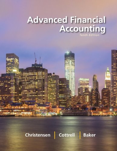 book Advanced Financial Accounting
