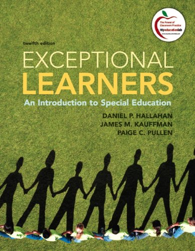 book Exceptional Learners: An Introduction to Special Education (12th Edition)