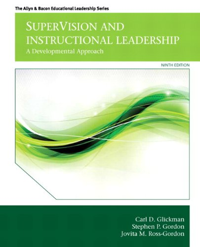 book SuperVision and Instructional Leadership: A Developmental Approach (9th Edition) (Allyn & Bacon Educational Leadership)