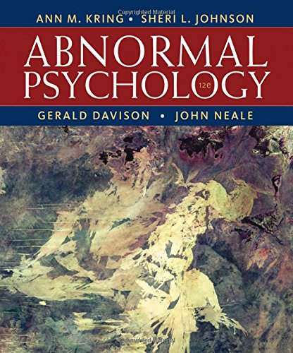 book Abnormal Psychology, 12th Edition