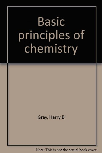 book Basic principles of chemistry