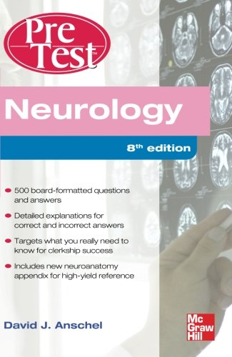 book Neurology PreTest Self-Assessment And Review, Eighth Edition