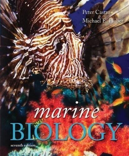 book Marine Biology (7th, Seventh Edition) - By Castro & Huber