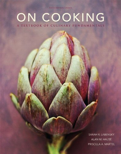 book On Cooking: A Textbook of Culinary Fundamentals, 5th Edition