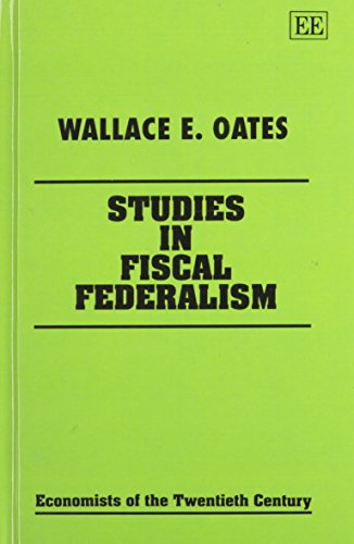 an essay on fiscal federalism oates Download citation | an essay on fiscal f oates 1999), while in fiscal federalism an essay on fiscal federalism.